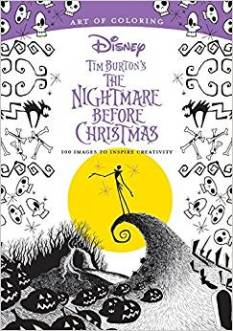 The Nightmare Before Christmas Colour Book